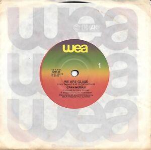 GARY-NUMAN-WE-ARE-GLASS-7-034-45-VINYL-RECORD-1980