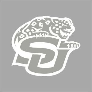 Southern Jaguars College Logo C Vinyl Decal Sticker Car Window - College custom vinyl decals for car windows