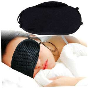 Eye-Mask-Cover-Shade-Blindfold-Sleeping-Sleep-Rest-Relax-eyemask-Masks-Travel-QD