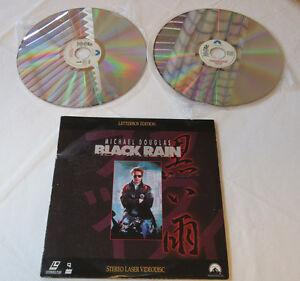 Black-Rain-Michael-Douglas-Paramount-Pictures-1990-2-Discs-laservision-videodisc