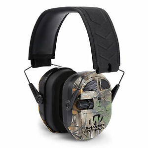 Walker-039-s-Ultimate-Hunting-Shooting-AFT-Electric-Power-Muff-Quads-Realtree-Camo