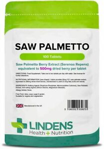 Saw-Palmetto-500mg-100-Tablets-Lindens-Health-Nutrition-0670