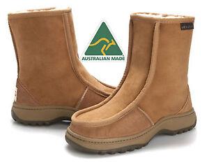 0fca945440a Details about Alpine Hiking Outdoor Ugg Boots Premium Australian Sheepskin  25cm/ 9.8