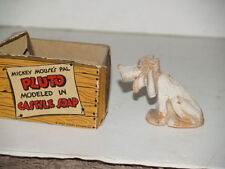 Walt Disney Enterprises Molded Soap Circa 1930 Lightfoot Schultz w/ Box - Pluto
