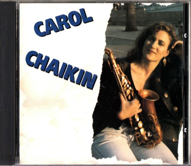 Carol Chaikin - Self Titled 1990 CD (Contemporary Sax Jazz) The DIVA Jazz Orches