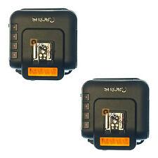 Cactus Wireless Flash Transceiver Remote Trigger V6 - Twin Set - NEW - UK