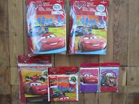 Lot Hallmark Disney Pixar Cars Party Favor Pack Banner Bags Valentine Cards