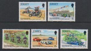 Jersey-1980-Jersey-Moteur-Cycle-Club-Ensemble-MNH-Sg-233-7