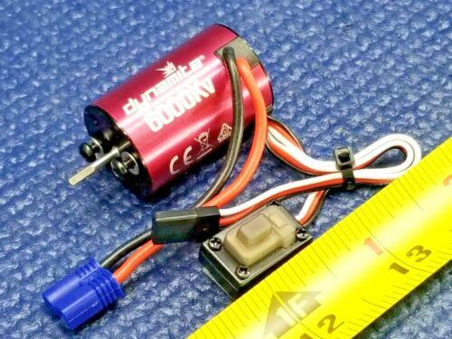 Mini-T 2.0 6000Kv Dynamite Brushless Motor//ESC 2-in-1 Combo DYNS0501