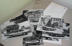 Quattro Typ 85 B2 Tropf-Trocken Willensstark Pressemappe Audi 80 Typ 81 Fotos Pressetext 09/1985