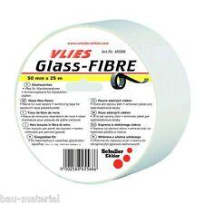 10x Fugendeckstreifen Armierung  Glasfaser Glasfaservlies Trockenbau 25m x 5cm