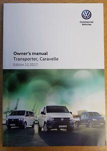 vw caravelle transporter handbook owners manual 2015 2017 book rh ebay co uk VW Caravelle Dimensions vw caravelle manual book