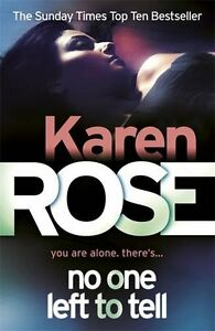 Karen-Rose-No-One-Gauche-pour-Tell-Tout-Neuf-Livraison-Gratuite-Ru