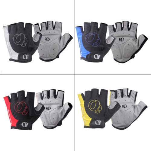 Cycling Gloves Fingerless Windproof Half Finger MTB Road Bike Shockproof Mens
