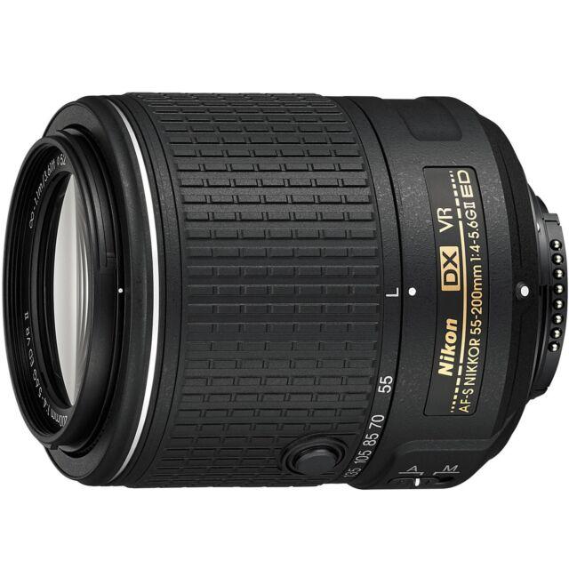Nikon AF-S DX Nikkor 55-200mm f/4-5.6G ED VR II Nikkor 55 200 mm VR II
