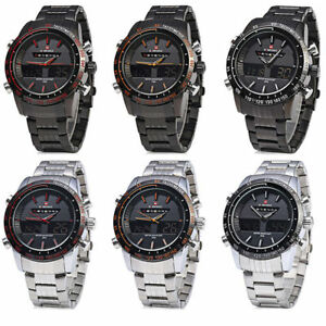 Image is loading NAVIFORCE-9024-Luxury-Mens-Quartz-Wrist-Watch-Analog-