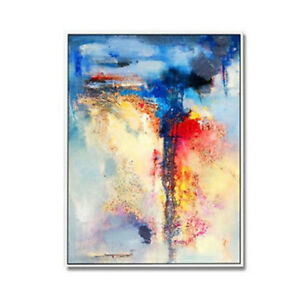 Large-Hand-Painted-Abstract-Oil-Painting-Home-Decor-Art-Wall-On-Canvas
