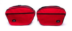 Pannier-Liner-Inner-Luggage-Bags-to-fit-DUCATI-MULTISTRADA-1200-Pair-Red