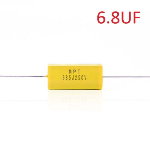 1.5//2.2//3.3//4.7//5.6//6.8//9uf Electrolytic Capacitor Car Tweeter Filters Divider