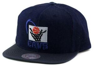 Cleveland Cavaliers Cap - Mitchell   Ness NBA Hat - Mitchell And ... 9b97dca2c076