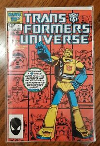 Marvel 25th Anniversary Trans Formers Universe Dec Issue #1