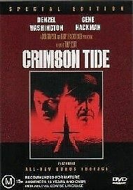 Crimson Tide (DVD, 2002) LIKE NEW ... R4