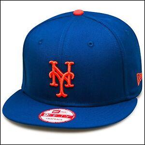 Hüte & Mützen New Era New York Mets Snapback Hut Mütze Alle Königsblau/orange/grau Hosen Mlb Kleidung & Accessoires