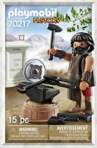 Playmobil-History-Hephaestus-griechischer-Gott-70217-Neu-amp-OVP-Sonderfigur-MISB