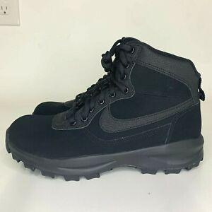Nike-Manoadome-844358-003-Triple-Black-Hiking-Trail-Work-Boots-Men-039-s-Sizes