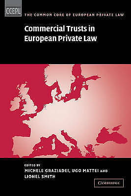 1 of 1 - Commercial Trusts in European Private Law (The Common Core of European-ExLibrary