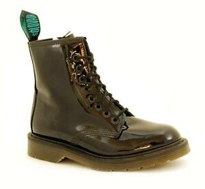 Made Boot neri Occhi Scarpe In S069 England Nps Patent Solovair s8551bkpb 8 qRpwAA