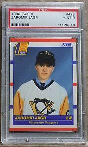 Sports Trading Cards & Accessories Jaromir Jagr O-PEE-CHEE OPC Premier 1990 90-91 #50 Rookie Card rC PSA 9 Mint QTY