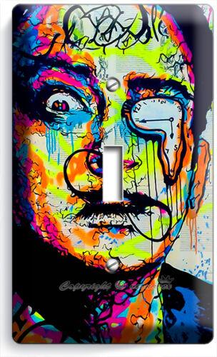 SALVADOR DALI ABSTRACT SINGLE LIGHT SWITCH WALL PLATE COVER NEW ART STUDIO DECOR