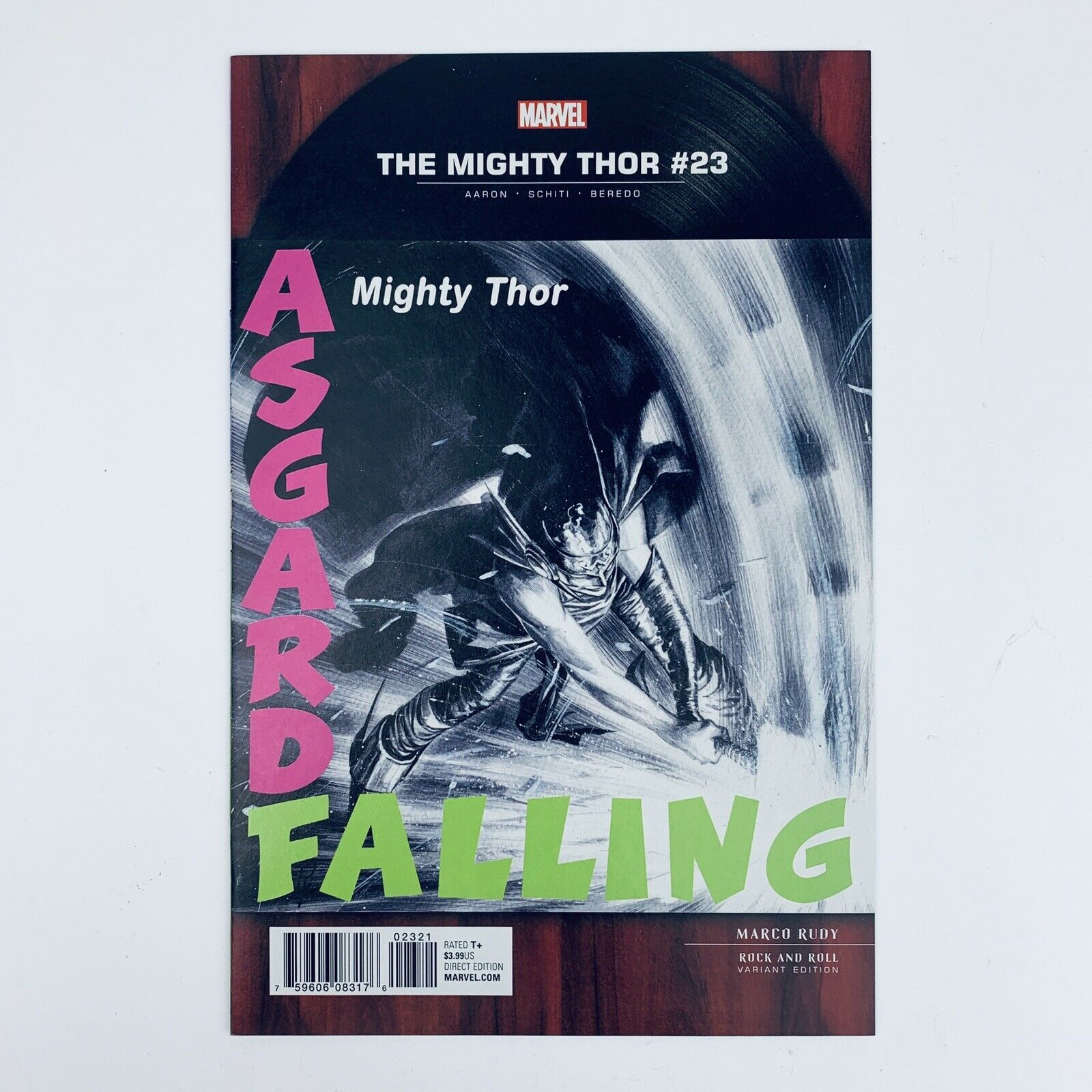 Mighty Thor #23 Rudy Clash London Calling Rock /& Roll 1:5 Variant Marvel, 2017