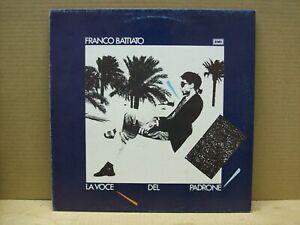 FRANCO-BATTIATO-LA-VOCE-DEL-PADRONE-LP-33-RPM-EMI-1981
