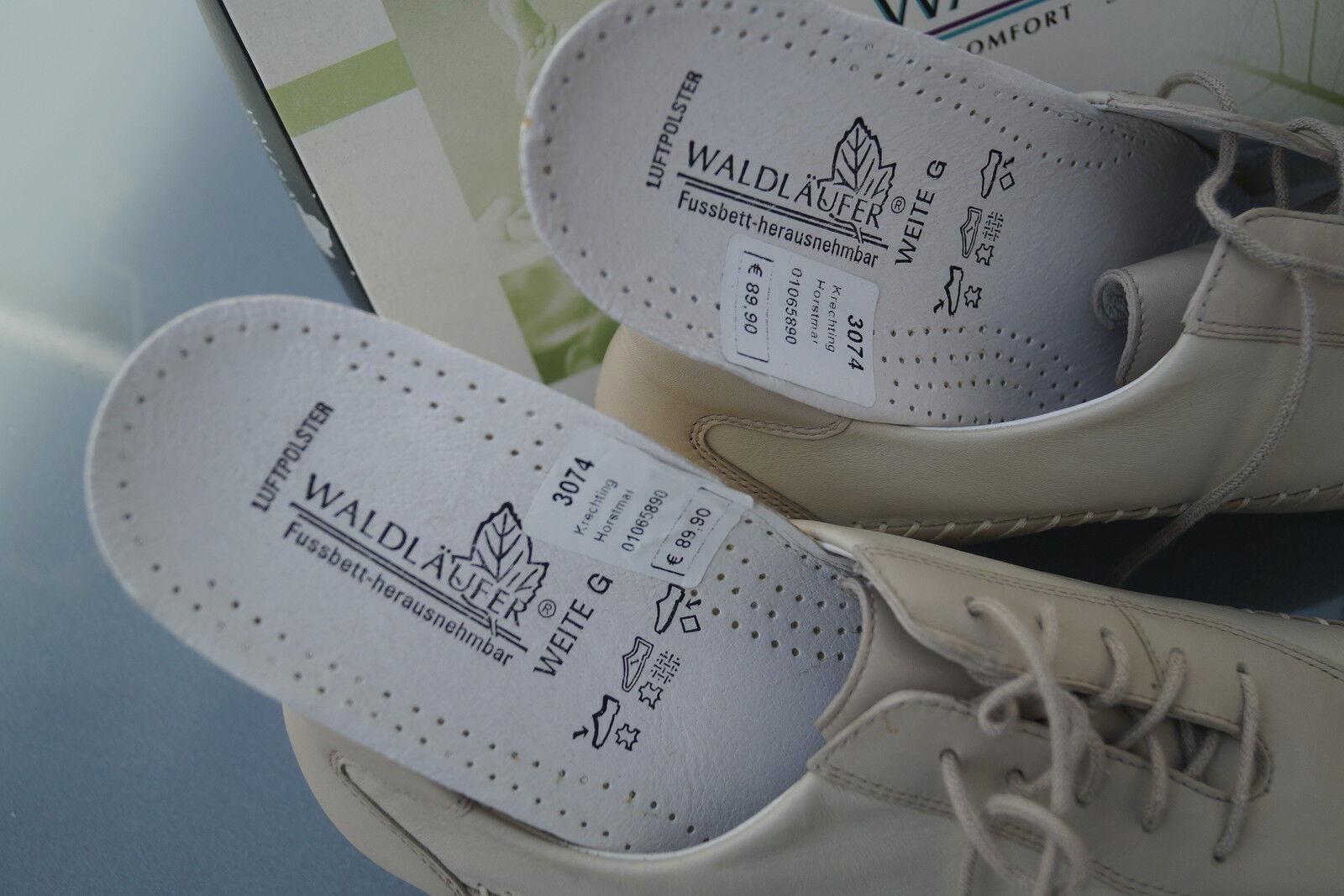 WALDLÄUFER Einlagen Gerti Damen Comfort Schuhe Slipper Leder mit Einlagen WALDLÄUFER Gr.6 G 39,5 NEU b74e94