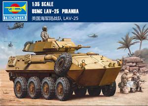 Trumpeter 00349 1//35 USMC LAV-25 Piranha TR00349