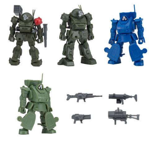 Bandai Armored Trooper Votoms Figure 2 1//60 Model Kits Scope Dog Marshy 5 pcs