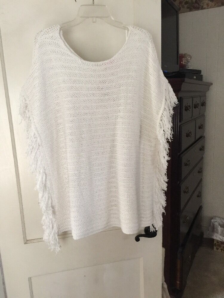 Lilly Pulitzer White Oceania Sweater