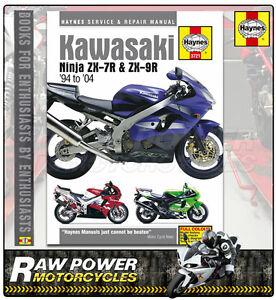 kawasaki zx9r c1 c2 1998 1999 haynes manual 3721 ebay rh ebay co uk