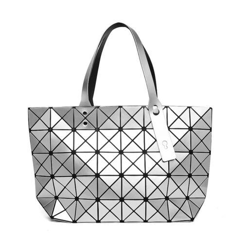 New Fashion Women Bao bag style Foldable Women/'s Cube Shoulder bag