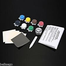 No Heat Liquid Leather Vinyl Repair Kit Fix Holes Auto Car Seat Sofa Crack Rip