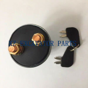 9W2790 3Y2280  Switch Disconnect New With 2 Keys 8H5306 CAT CATERPILLAR BATTERY