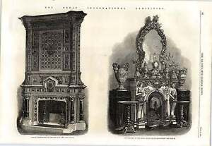 1862 Library Chimneypiece Trollope Royal Saxon China Manufacture Paper Machine - Jarrow, United Kingdom - If for any reason you are not satisfied with your item, do let us know. If you wish to return it, you may, within 7 days, and we will issue you with a full refund. Most purchases from business sellers are protected by the Consumer - Jarrow, United Kingdom