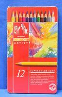 Caran D'ache Supracolor Ii Soft Set Of 12 Colors F-74240