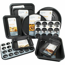 10 Piezas Antiadherentes Acero Al Carbono Hornear utensilios de cocina utensilios Para Hornear Lata Horno Pan Bandejas Set