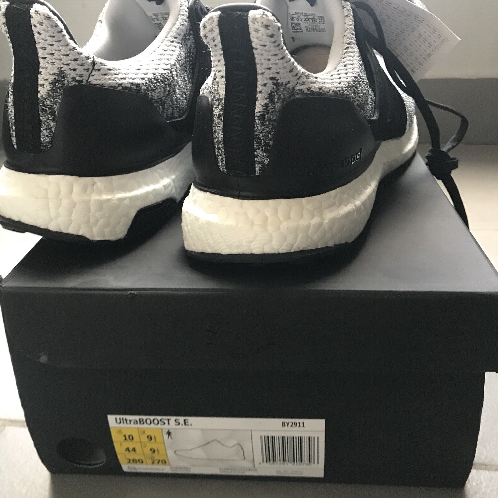 Adidas NMD City Sock CS1 PK Primeknit Winter Wool - noir/blanc