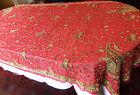 Inde Grand panneau ou châle broderie indienne ZARDOSI sur Soie 2m50 x 1m30