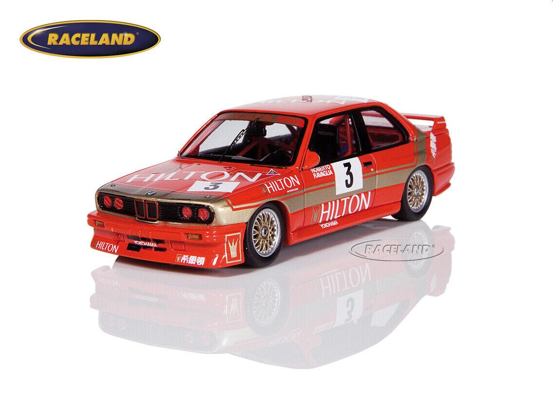 BMW M3 Hilton Schnitzer Macau GP Guia Race 1987 Roberto Ravaglia, Spark 1 43
