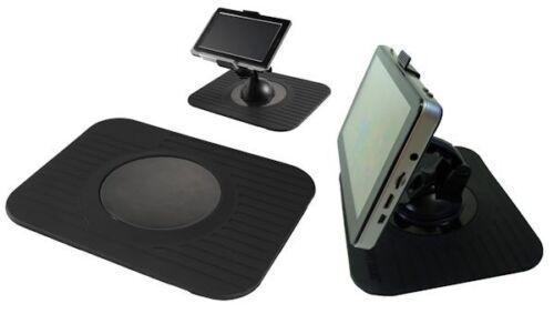 SAT NAV Dash Mat ninguno Slip sin agujeros de montaje para su sistema GPS tablet o teléfono